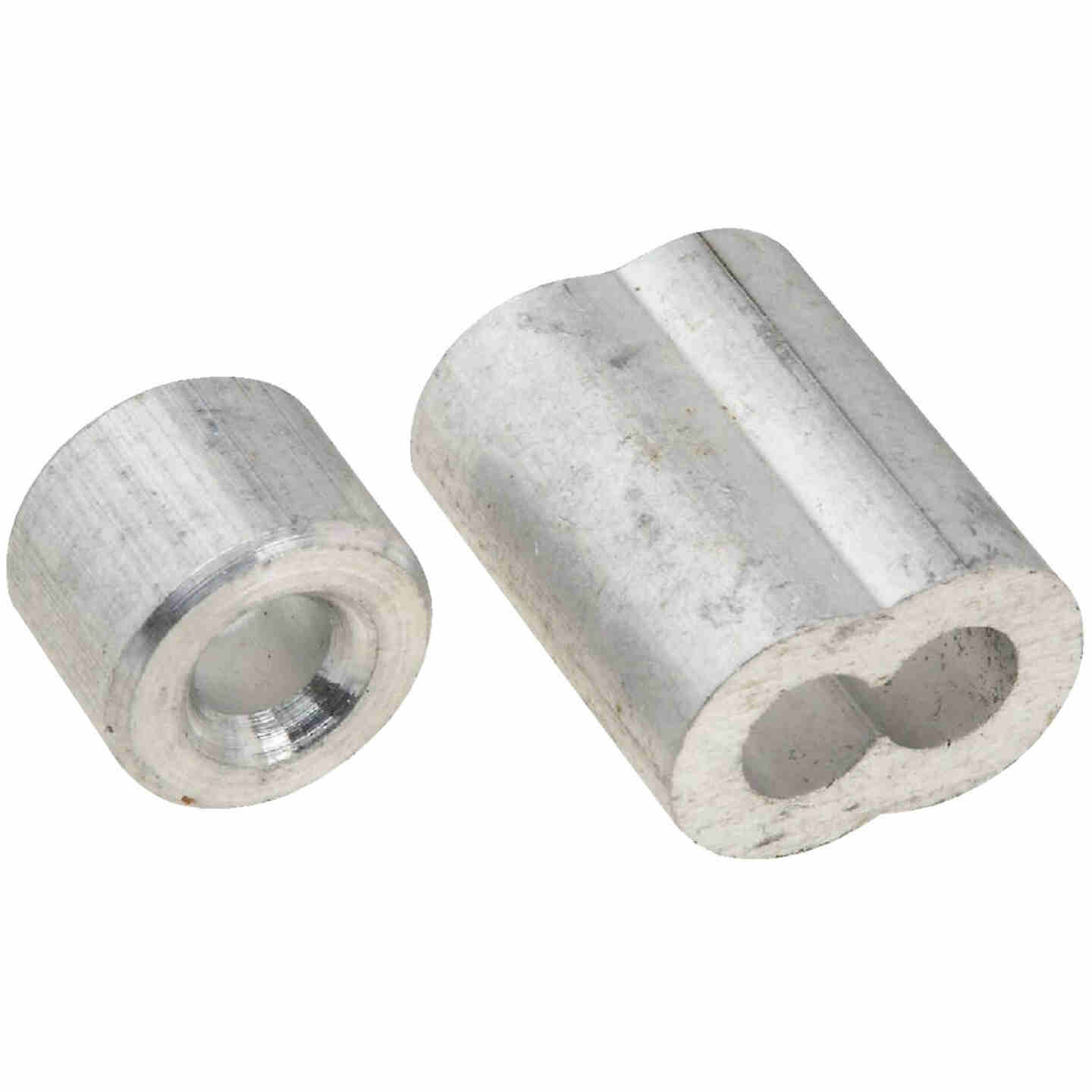 """Prime-Line Cable Ferrules and Stops, 5/32"""", Aluminum Image 1"""