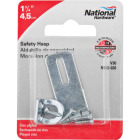 National 1-3/4 In. Zinc Non-Swivel Safety Hasp Image 2