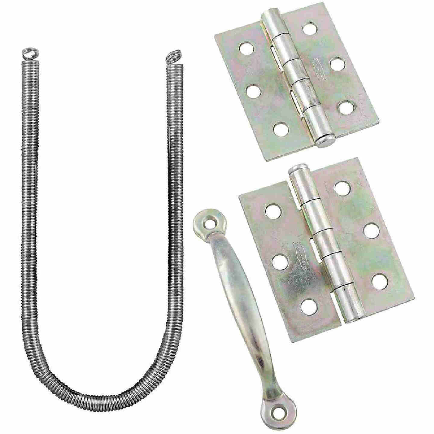 National Zinc 2-Hinge Screen Door Kit Image 1