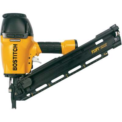 Bostitch 33 Degree 3-1/2 In. Paper Tape Framing Nailer