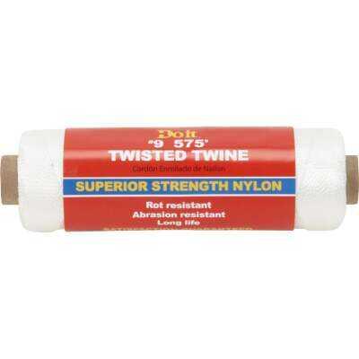 Do it #9 x 575 Ft. White Nylon Twisted Twine