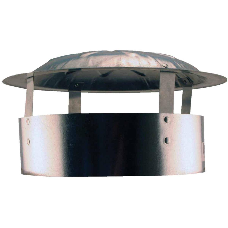 S & K Galvanized Steel 10 In. x 13 In. Vent Pipe Cap Image 1