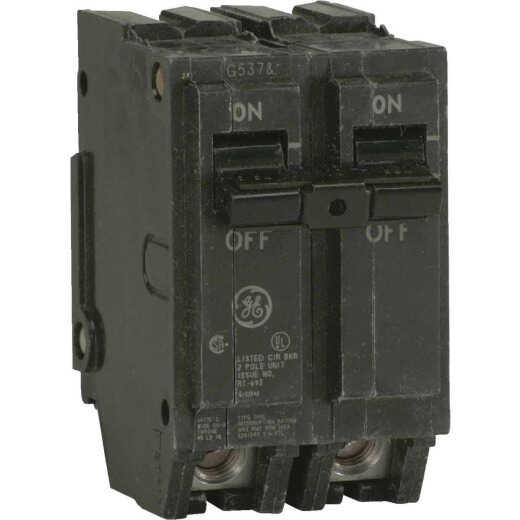 GE THQL 20A Double-Pole Standard Trip Circuit Breaker