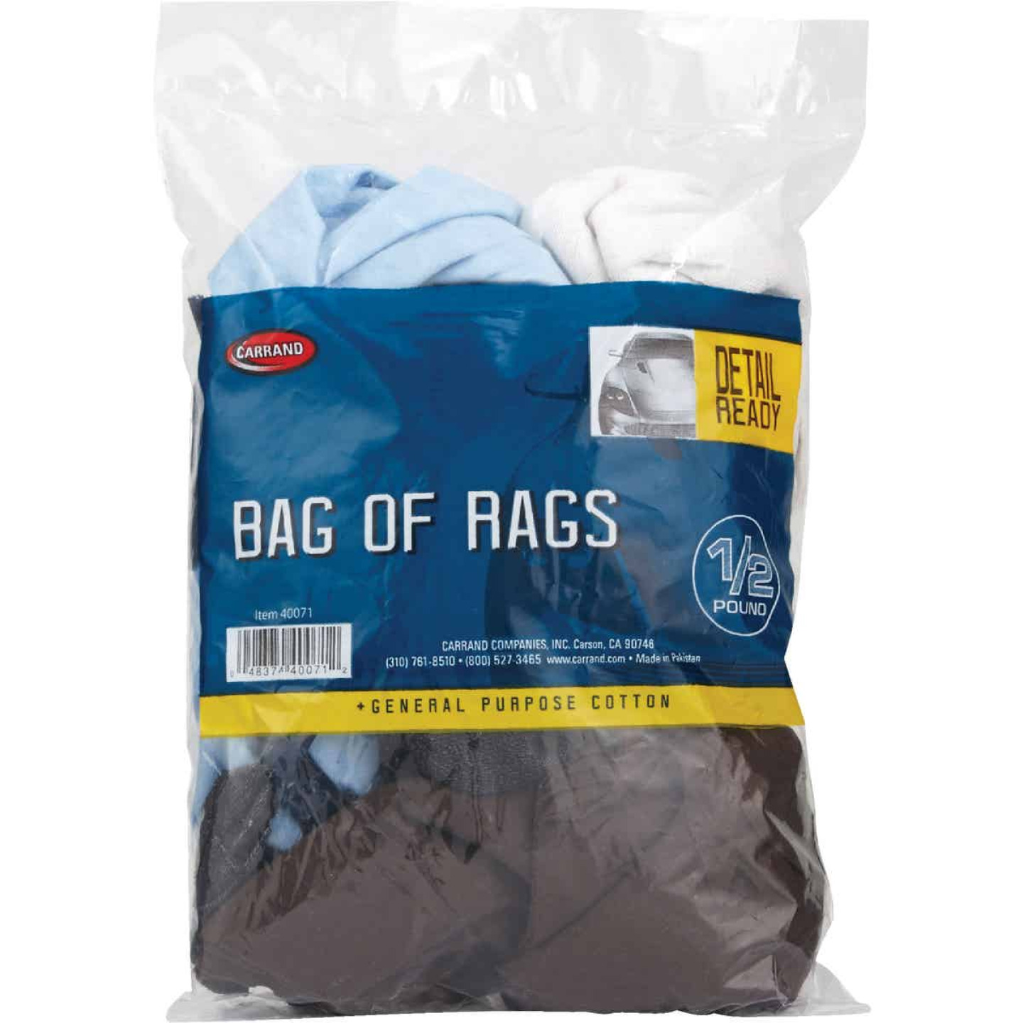 Carrand 1/2 Lb. Cleaning Rag Image 2