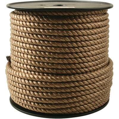 Do it 1/2 In. x 250 Ft. Brown Twisted Unmanila Polypropylene Rope