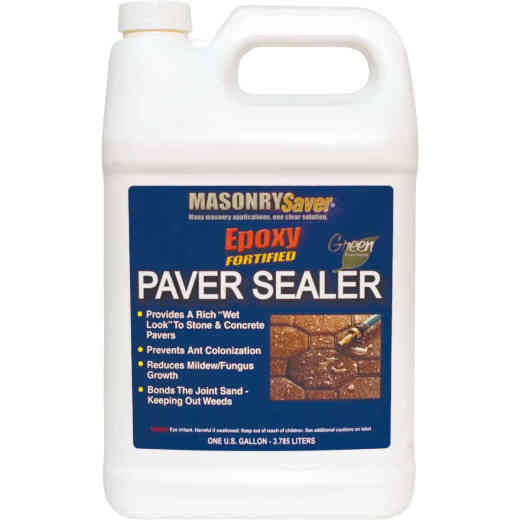 Masonry Saver 4Clear Satin Concrete Sealer, 1 Gal.
