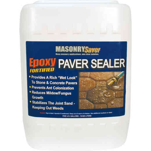 Masonry Saver Clear Satin Concrete Sealer, 5 Gal.