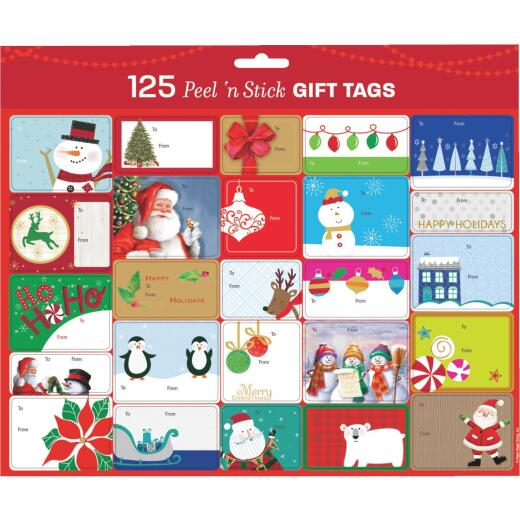 Gift Wrap Tags